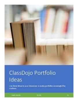 ClassDojo Portfolio Ideas