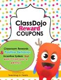 ClassDojo Reward Coupons