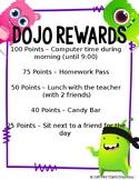 ClassDojo Reward List