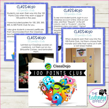 ClassDojo Reward System | FREE