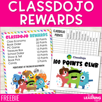 ClassDojo Rewards Pack - FREE