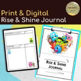 ClassDojo Theme Morning Work - DIGITAL & Printable