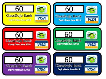 ClassDojo Visa Cards