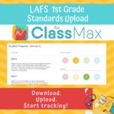 ClassMax Instructional Tracking - LAFS Standards Upload (First Grade)