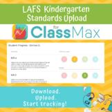 ClassMax Instructional Tracking - LAFS Standards Upload (Kindergarten)