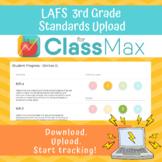 ClassMax Instructional Tracking - LAFS Standards Upload (Third Grade)