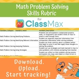 ClassMax Instructional Tracking - Math Problem Solving Skills Rubic