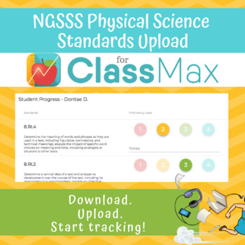 ClassMax Instructional Tracking - NGSSS Physical Science Standards