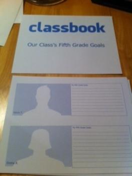 Classbook - Our Class Goals (facebook profile)