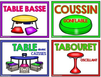 Classe Flexible - French Flexible Seating