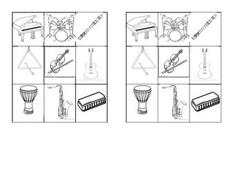 Classement des instruments de musique par famille - music instruments