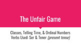 "Classes and Telling Time in Spanish ""Unfair"" Game Review"