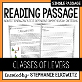 Classes of Levers Reading Passage