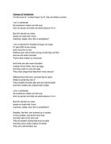Classes of Vertebrate Song (Mammal, Reptile, Bird, Fish, A