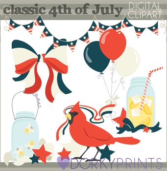 Classic 4th of July Clipart