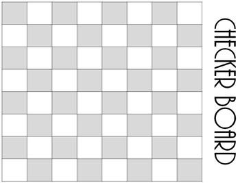 Classic Board Games on Paper--FREEBIE