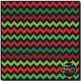 Classic Christmas Chevron on Black Digital Papers {Commerc