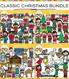 Classic Christmas Clip Art Bundle