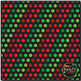 Classic Christmas Dots on Black Digital Papers {Commercial