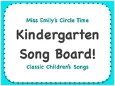 Classic Circle Time Song Board