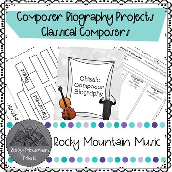 Classic Composer Biography Project