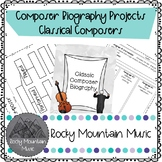 Classical Composer Biography Project