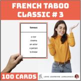 Classic ESL Taboo Speaking Game - Version 3