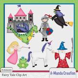 Classic Fairy Tal Characters Clip Art