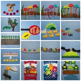 Classic Felt Board Songs Felt Board Pattern eBook Digital
