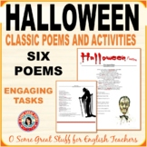 HALLOWEEN ACTIVITY  Classic Poems and Questions with Key