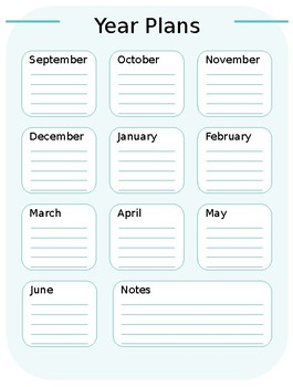 Classic Happy Planner inserts - editable