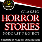 Classic Horror Stories Podcast Project     Distance Learning