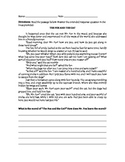 Classic Literature Extended Response Packet- TEST PREP
