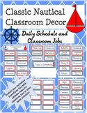 Classic Nautical Classroom Theme Classroom Jobs and Daily