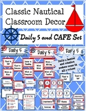 Classic Nautical Daily 5 and CAFE Set