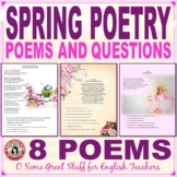 Poetry: Classic Poems to Welcome Spring Questions, Tasks, and Key