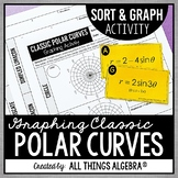 Classic Polar Curves Sort and Graph Activity