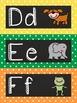 Classic Polka Dot Alpha Headers for Word Wall