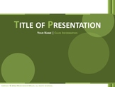 Classic PowerPoint Template (Green)