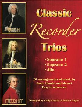 Classic Recorder Trios SSA