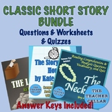 Classic Short Story Bundle - The Lottery, The Necklace & The Story of an Hour!