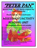 Classic Starts PETER PAN Assessment/Activity 129 Page CCSS