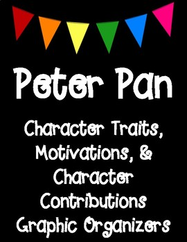 Classic Starts Peter Pan Character Analysis Charts