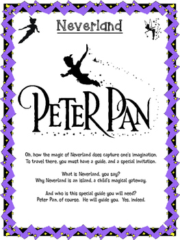 Classic Starts Peter Pan Poem titled Neverland
