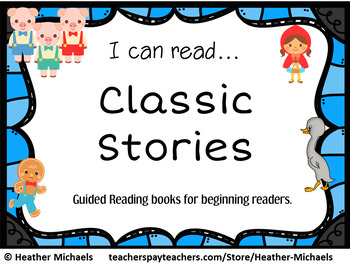Classic Stories For Guided Reading - Fairy Tales and Fables with TDQs English