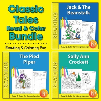 Classic Tales: Read & Color {Bundle}
