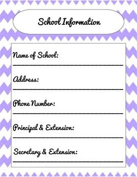 Classic Teacher Planner-Updated!
