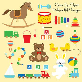 Clipart:  Toys Clip Art