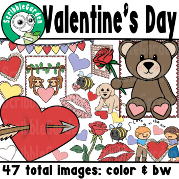 Classic Valentine's Day ClipArt