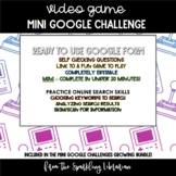 Classic Video Games Mini Google Challenge - Great for Dist